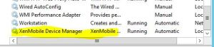 XenMobile Device Manager Service